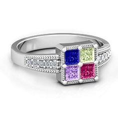 s jewelry on rings birthstones