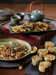Sticky Rice with Carrots, Shiitake Mushrooms, and Peanuts Recipe | Vegetarian Times