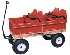 Huge Kids Wagon And Matching Trailer For Sale Picture