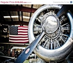 Aviation in the USA Fine Art Photo Print.  Military, Veterans & Soldiers will love this as a gift.