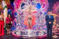 Grupo Mascarada Carnaval: María José Chinea Cabrera, Reina del Carnaval Inte...