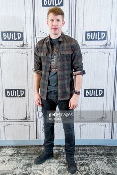 News Photo : Musician James Blunt attemds the Build Series to...
