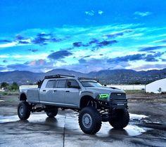 4 x 4 diesel Dodge ram Lowered Trucks, Ram Trucks, Dodge Trucks, Jeep Truck, Diesel Trucks, Lifted Trucks, Cool Trucks, Pickup Trucks, Lifted Dodge