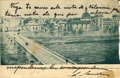 San Pio V, Hospital Militar de Valencia. Tajeta postal