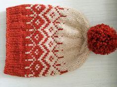Kirjoneule pipo Lankutkalla.blogspot.com Knitting Hats, Knit Hats, Beanie Hats, Knitting Patterns, Winter Day, Knitting Projects, Projects To Try, Crafty, Inspiration