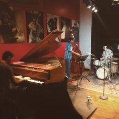 Ahora en la jam session de thelonious #benjaminfurmanmusic