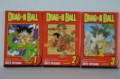 #Dragon #Ball #Shonen #Jump #Manga #SeriesPB #Graphic #Novel #Volumes1-3 #Akira #Toriyama #ShonenJump