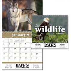 It's almost that time of year again! If you want your promotional #calendars in by January, time to start shopping!   Consider the North American Wildlife (TM) Wall Appointment Calendar, featuring a new animal every month!  http://www.empirepromos.com/items/NorthAmericanWildlifeTMWallAppointmentCalendar18480.php#  #wildlife #fishing #promotionalproducts #swag #newyear