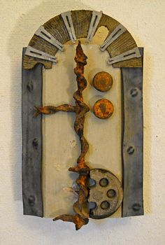 Shrine II found object assemblage by tristanfrancis on Etsy, $200.00