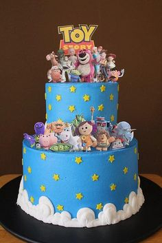 toy story cake by CoolCakes, via Flickr