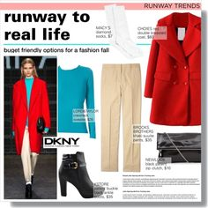 A fashion look from October 2015 by federica-m featuring Lord & Taylor, Brooks Brothers, Hue, DKNY, GetTheLook, LookForLess and dkny
