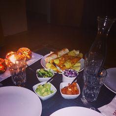 Spicy enchiladas enjoyed with friends :-) #kenwoodchefsense