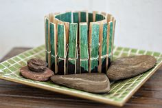 Isn't that Sew: DIY Clothespin Candle