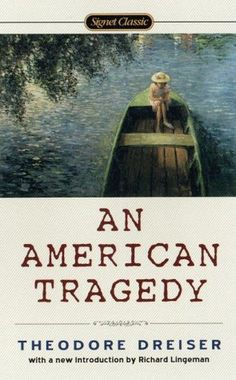 """""""What followed then was what invariably follows in the wake of every tortured consciousness. From what it dreads or hates, yet knows or feels to be unescapable, it takes refuge in that which may be hoped for - or at least imagined."""" An American Tragedy by Theodore Dreiser"""