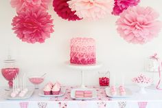 Baby Shower Themes, Free Baby Shower Game Ideas, 100 baby shower themes, FREE Baby Shower Games Printable and baby shower Favors, Baby Shower Decorations Lolly Buffet, Candy Buffet Tables, Candy Table, Cake Pops, Baby Shower Desserts, Baby Shower Parties, Shower Party, Shower Favors, Pink Parties