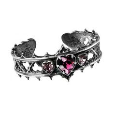 Elizabethan Pewter Cuff Gothic Bracelet ($59) ❤ liked on Polyvore featuring jewelry, bracelets, pewter jewelry, gothic jewelry, cuff bangle, gothic jewellery and goth jewelry