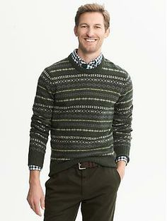 Heritage Navy Shawl-Collar Pullover | Banana Republic | Man ...