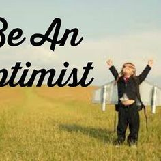 New blog post – Be An Optimist – check it out at tybennett.com