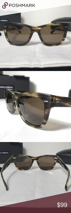 *NEW* DOLCE & GABBANA UNISEX POLARIZED SUNGLASSES This glasses is brand New complete with all original packaging. 100% guaranteed authentic. Havana Brown / Tortoise pattern. High Polished Quality Frame. Polarized lens. Made in Italy. Dolce & Gabbana Accessories Glasses