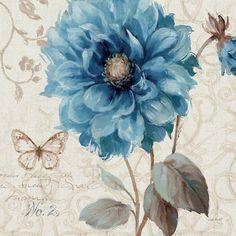 A Blue Note II by Lisa Audit art print