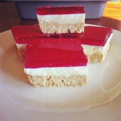 Aussie jelly slice a la Sharon