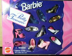 1995 Barbie Pretty Treasures Shoes | eBay