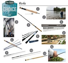 Fishing Rods for Alaska | 2015 Editors' Choice Awards | Fish Alaska Magazine