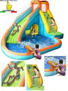 Castello acqua gioco gonfiabile grandissimo bimbo bimba http://www.marketitaliano.it/?df=330844048472