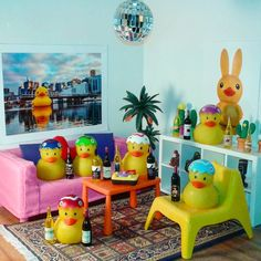 "While Axu is in Gdansk he lends his home to these innocent looking Easter chicks. Big mistake!  Theme song: ""We Like To Party"" by Venga Boys"