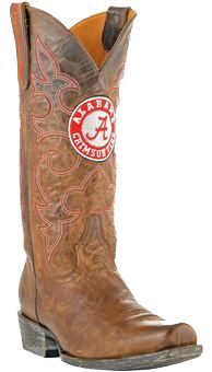 83c5da40fe Handcrafted College Team Cowboy Boots - Go Team