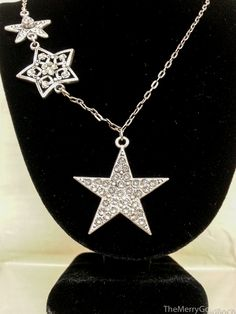 Star Necklace- Matches the earrings- Anne Koplik