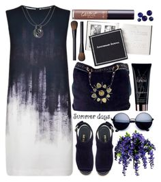 """""""Summer Days"""" by grozdana-v ❤ liked on Polyvore featuring Vince, Gucci, Yves Saint Laurent, Prada, NARS Cosmetics and tarte"""