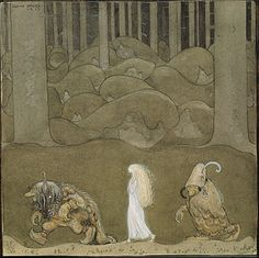 Scandinavian folklore - Wikipedia, the free encyclopedia. Painting by John Bauer