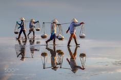 Nha Trang Salt Field by tamdle55