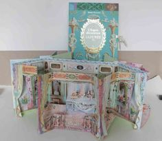 Marie Arden Pink Living: Pretty pop up book from Laduree
