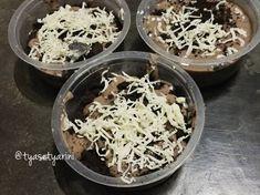 Resep Puding sedot milo oleh Tya Setyarini - Cookpad Oreo Cheesecake, Coconut Flakes, Spices, Food, Spice, Essen, Meals, Yemek, Eten