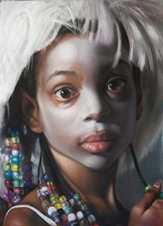 """""""When You Wish Upon a Star (The Artist's Wig) 1"""" > pastel and charcoal mounted on canvas 68 x 50 inches"""
