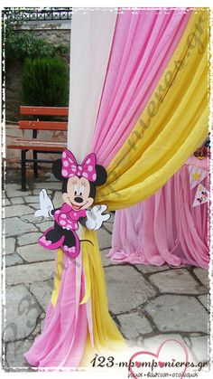 ΣΤΟΛΙΣΜΟΣ ΒΑΠΤΙΣΗΣ - MINNIE MOUSE - ΚΩΔ:MINNIE-1139 Minnie Mouse, Little Princess, Disney Princess, Aurora Sleeping Beauty, Disney Characters, Decor, Decoration, Decorating, Disney Princesses