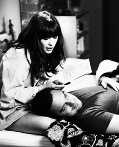 #newgirl Jess and Nick <3 way too cute...