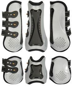/Black Zandon/à Carbon Air Sensitive Protection the Horse Pony Tendon Gaiters/