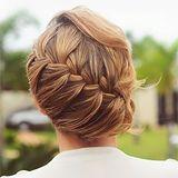 french braid. pretty.