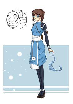 avatar the last airbender oc | Avatar OC : Oki by Ykari-chan