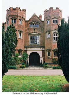Hadham Hall.... Home, from 1992-1998. An idyllic place.