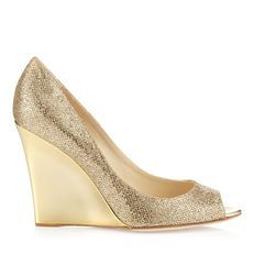 Bello - the wedge is a supremely comfortable way to wear Jimmy Choo