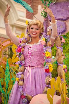 Mickey's Soundsational Parade: Rapunzel | Flickr - Photo Sharing!