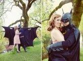 Batman Themed Engagement Shoot---haha too cute!