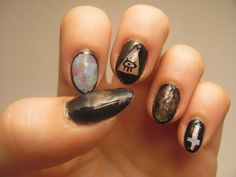 soft grunge nails tumblr - Google Search