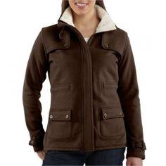 Carhartt Womens Sherpa Sweatshirt Jacket - Mills Fleet Farm