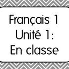 This download includes the entire French I Unit 1 Plan with all 7 Lesson Plans, Activities, and Unit exam with oral assessment.