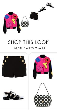 """""""but. moschino chic."""" by kohlanndesigns ❤ liked on Polyvore featuring Boutique Moschino"""
